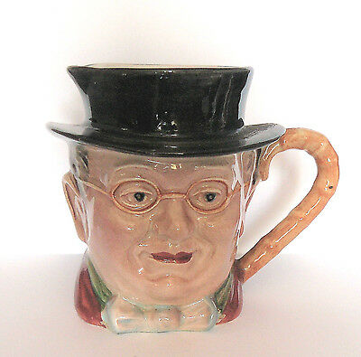 BESWICK Charles Dickens SMALL CHARACTER JUG # 1119 - PICKWICK - Very Good (2)