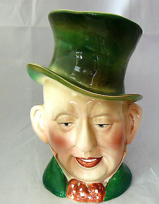 BESWICK Charles Dickens LARGE CHARACTER JUG # 310 - MR. MICAWBER - Very Good