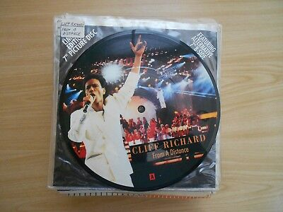 Cliff Richard=From A Distance (Picture Disc)  Ex+