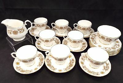 DUCHESS Bone China 26 Pieces Crestwood Tea Set Made In England - R16