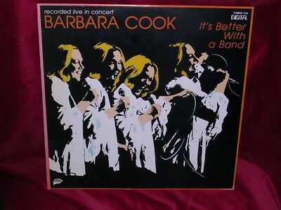 Barbara Cook - It's Better With A Band - Mmg 104 - 1981 - Usa