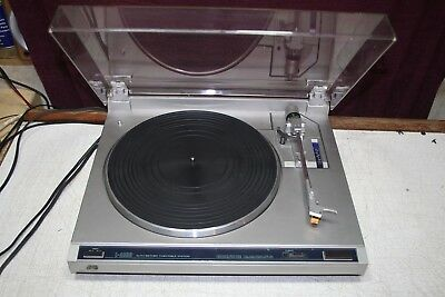 JVC L-A100 turntable auto return record player