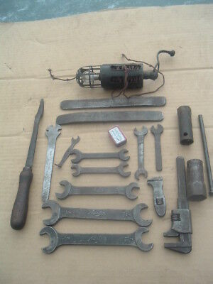 Pre War Austin Seven 7 Toolkit Items Chummy Box  Pearl Ruby Opal Ulster Nippy