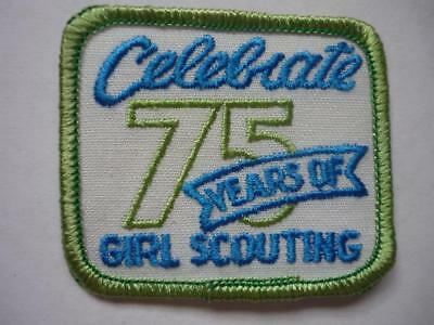 Girl Guides  Celebrate 75 Years of Girl Scouting Badge USA