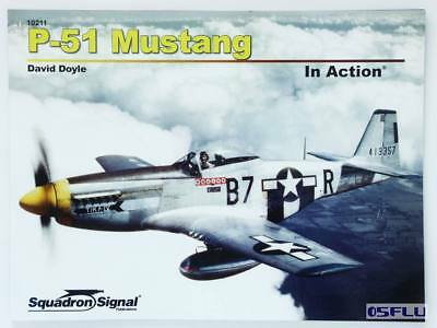 Squadron Signal SQ10211 - P-51 Mustang In Action (Softcover) englisch - NEU!