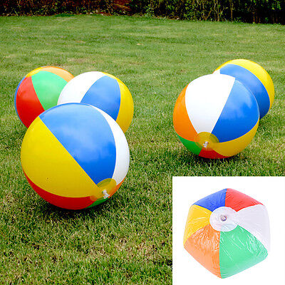 Baby Kids Beach Pool Play Ball Inflatable Educational Children Ball Toy FG