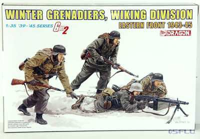 Dragon 1:35 6372 Winter Grenadiers, Wiking Division Eastern Front 1943-45 - NEU!
