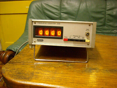 Bradley Electronics 238 Lf Frequency Counter Nixie Display