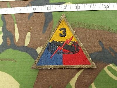 WW2? U.S. 3rd ARMORED DIVISION Div Sleeve Patch