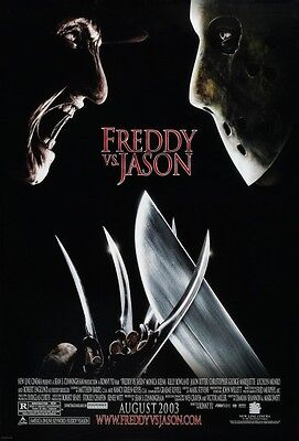 Freddy Vs Jason - original DS movie poster - 27x40 D/S FINAL