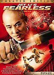 Fearless JET LI (DVD, 2006, Unrated and Theatrical Editions, Widescreen)