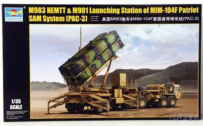 Trumpeter 1:35 01037 M983 HEMTT & M901 Launching Station oMIM -104F Patriot SAM