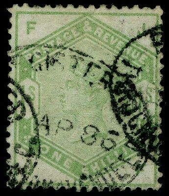 Sg196, 1s dull green, good used. Cat £300. JF