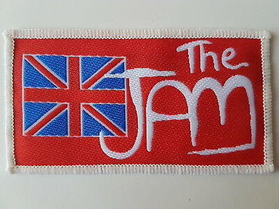 The Jam Vintage Woven Patch Paul Weller Mods Mod Punk New Wave