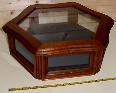 Table Top 6 sided Bijouterie Cabinet