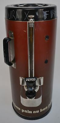 Fetco Luxus TPD-15 1.5 Gallon Hot/Cold Beverage Dispenser Wrapped
