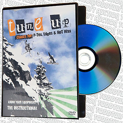 Tune Up Clinic - P-Tex, Edges & Waxing - DVD - Snowboard & Ski - SALE PRICE
