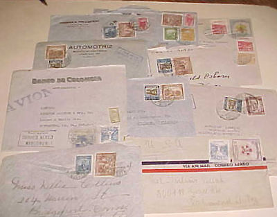 COLOMBIA  MANCOMUN on 10 SMALL COVERS