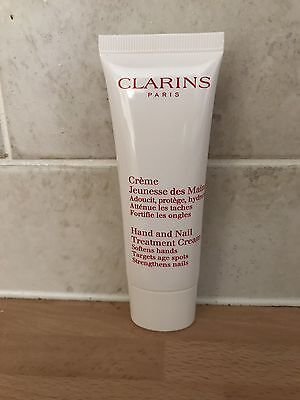 clarins hand and nail treatment