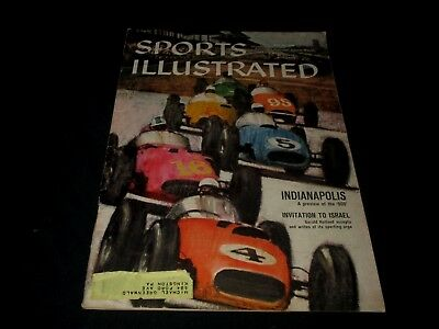 Sports Illustrated Magazine-May 25, 1959-Indianapolis 500 Preview