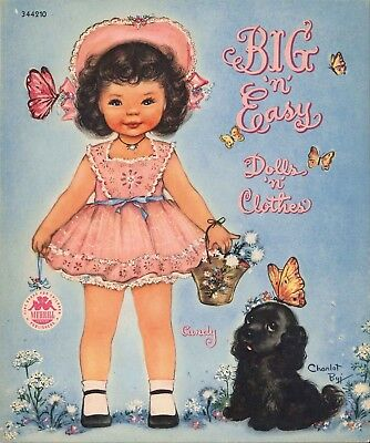 Vintage 1949 Big N Easy Paper Dolls Laser Reproduction ~Uncut~Lo Pr~ Top Seler