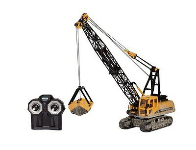 Hobby Engine R/C 0705C, Remote Control Crawler Crane 1:12 Construction Vehicle