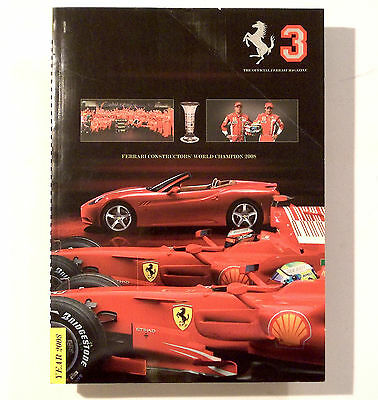 Annuario Ferrari 2008 Yearbook - The Official Ferrari Magazine N. 3