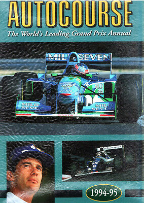 Autocourse - The World's Leading Grand Prix F1 Annual 1994-95 - Raro