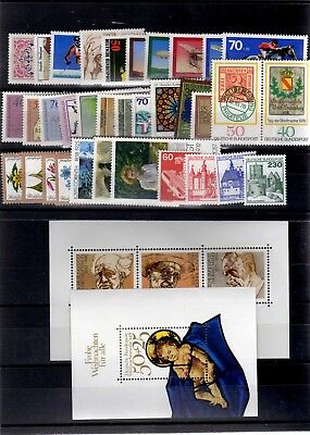Germany 1978 Complete Year Mnh