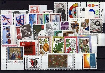 Germany 1979 Complete Year Mnh