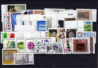 Germany 1980 Complete Year Mnh