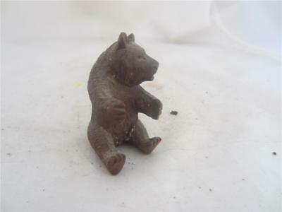 19Th Century Black Forest Carved Seated Bear