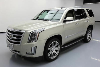 2015 Cadillac Escalade Luxury Sport Utility 4-Door 2015 CADILLAC ESCALADE 4X4 LUX LEATHER NAV HUD 22'S 38K #209883 Texas Direct