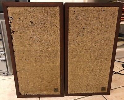 Vintage Pair Acoustic Research AR 4x Speakers original condition