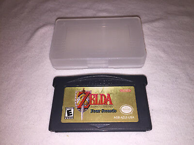 Legend of Zelda: Link to the Past Four Swords Nintendo Game Boy Advance GBA Nice
