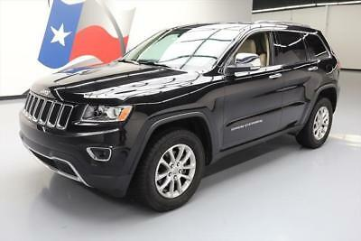 2014 Jeep Grand Cherokee Limited Sport Utility 4-Door 2014 JEEP GRAND CHEROKEE LTD 4X4 HTD SEATS SUNROOF NAV  #132829 Texas Direct