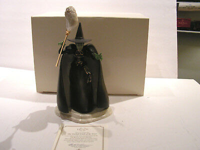 """Lenox - Wizard of Oz -"""" The Wicked Witch of the West""""  Mint/OB/COA"""