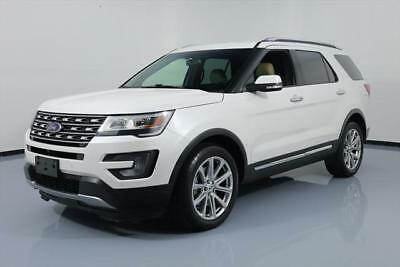 2017 Ford Explorer Limited Sport Utility 4-Door 2017 FORD EXPLORER LTD AWD LEATHER NAV 3RD ROW 20'S 36K #A18088 Texas Direct