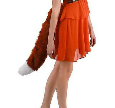 Oversized Red Fox Tail Sexy Adult Costume Accessory