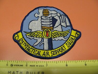 Older 25Th Tactical Air Support Squadron Colored Uniform Patch Eielson Alaska
