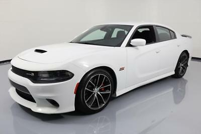 2016 Dodge Charger R/T Scat Pack Sedan 4-Door 2016 DODGE CHARGER R/T SCAT PACK 392 HEMI REAR CAM 10K #318723 Texas Direct Auto