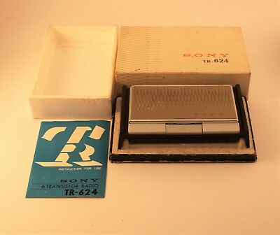 Sony TR-624 Transistor Radio - In Original Box With Users Guide