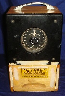 BG344 WW2 Magnesyn Instrument Field Tester US Army Air Force O.B. McClintock MN