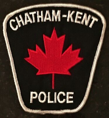 Chatham-Kent Police - Ontario - Canada - 1st Maple Leaf Patch