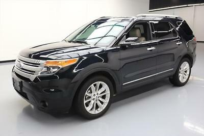 2014 Ford Explorer XLT Sport Utility 4-Door 2014 FORD EXPLORER XLT HTD LEATHER NAV 3RD ROW 20'S 39K #C46651 Texas Direct