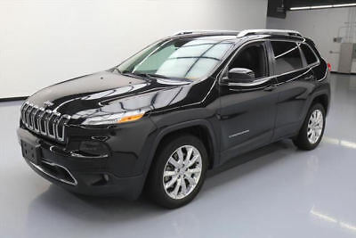 2016 Jeep Cherokee Limited Sport Utility 4-Door 2016 JEEP CHEROKEE LIMITED HTD LEATHER NAV REAR CAM 30K #137683 Texas Direct