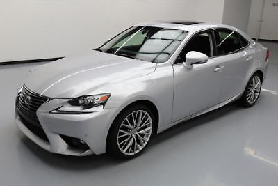 2016 Lexus IS200t  2016 LEXUS IS200T PREM PLUS SUNROOF NAV REAR CAM 14K MI #032586 Texas Direct