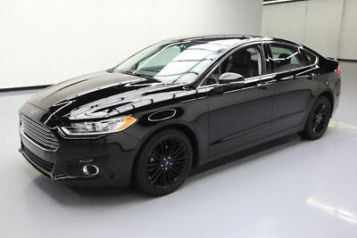 2016 Ford Fusion SE Sedan 4-Door 2016 FORD FUSION SE AWD ECOBOOST HTD LEATHER 44K MILES #142153 Texas Direct Auto