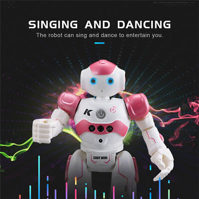 RC Remote Control Robot Smart Action Singing Dancing Gesture Sensor Kid Toy Gift