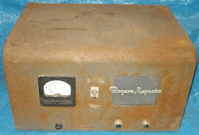 BH421 Vtg Motorola Rogers Majestic Vacuum Tube DC Remote Console PA Police Taxi